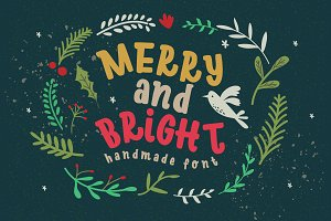 Merry Bright Typeface