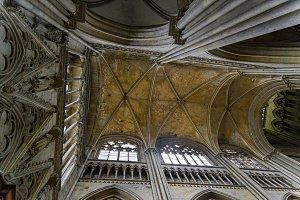 Interior of a catholic temple.