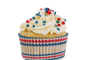 Cupcake celebration for the Fourth