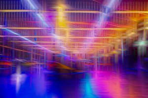 Colorful abstract lines background.