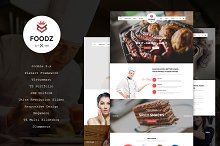 Foodz - Restaurant Joomla Template by  in Joomla