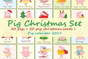 For one week only $5!!! PIG SET