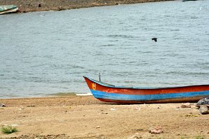 Boat on the beach #2