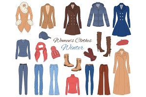 Women s clothes collection