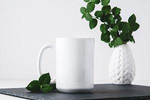 Styled Mug Mockup Stock Photo