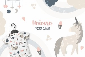 Unicorn! Baby nursery for girls!