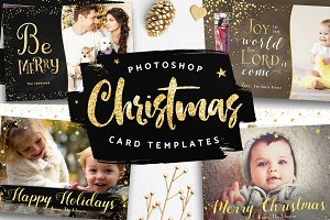 Christmas Card Photog Templates