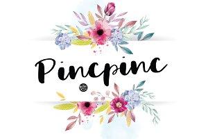 Pincpinc | Handwritten Font