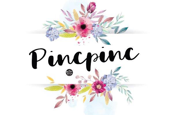 Pincpinc   Handwritten Font