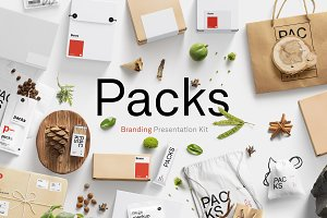 Packs Mockup Bundle | BPK