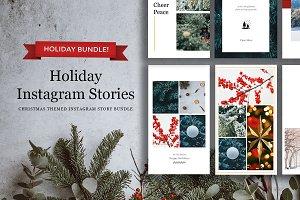 Holiday Instagram Stories Bundle!