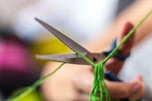 Cutting Yarn