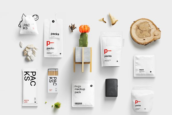 Product Mockups: LS - -50% | Packs Mockup Bundle | BPK
