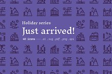 Just arrived! / holiday icons by  in Icons