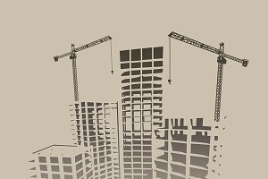 Construction Industry illustrations