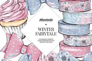 Winter Planner Cliparts