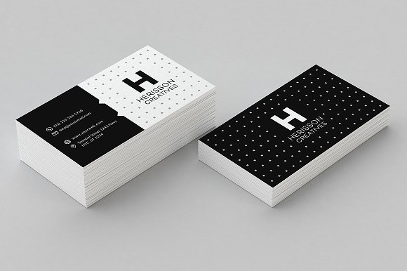Minimal business card template business card templates creative minimal business card template business card templates creative market wajeb Gallery