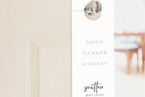 Door Hanger Mockup - Wedding Favor