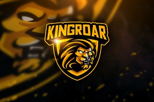 Kingroar - Mascot & Sports Logo