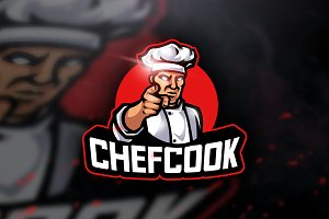 Chefcook - Mascot & Sports Logo