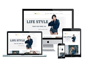 WS Jeans - Clothing wordpress theme