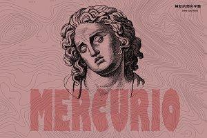 Mercurio SVG Font