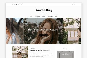 Laura Wordpress Blog Theme