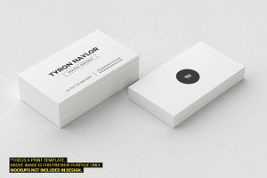 Minimal Business Card Template 66