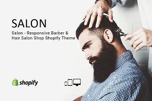 Salon – Barber & Hair Shopify Theme