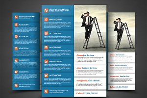 Business Flyer Print Templates