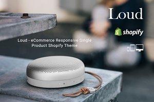 Loud – Single Product Shopify Theme