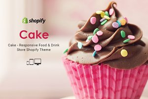 Cake – Food & Drink Shopify Theme