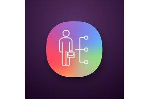 Employee skills app icon