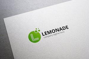 Lemonade L Letter Logo