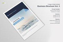 Business Brochure Vol. 3