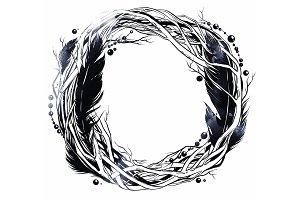 Boho wreath   JPEG