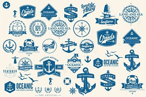 Set of Nautical elements