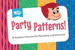 Colorful Retro Party Patterns