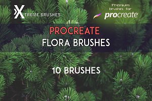 Procreate Flora Brushes