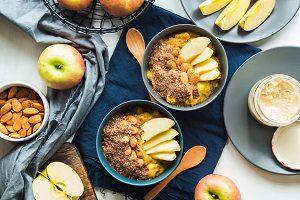 Cozy Breakfast food concept with