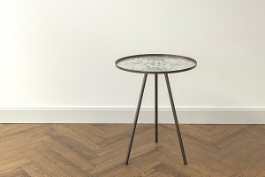 Design Side Table Vintage Antique