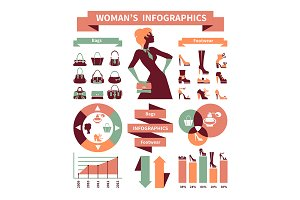 Fashion Woman Infographics 2