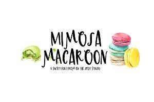 Mimosa Macaroon