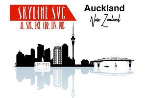 Auckland Vector Skyline Auckland SVG