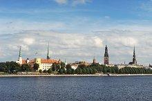 Panorama of Riga. Latvia