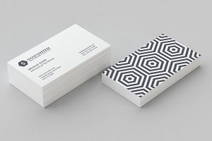 Pattern Business Card Template Vol 4