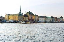 Stockholm panorama. Sweden