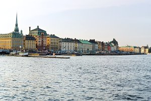 Stockholm panorama. Sweden
