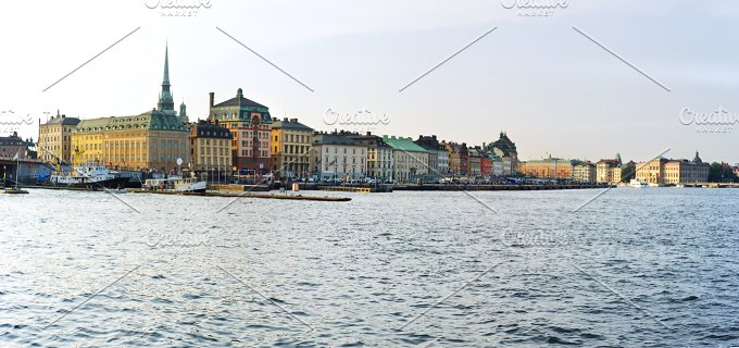 Stockholm panorama. Sweden - Architecture