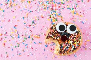 Funny Face Doughnut